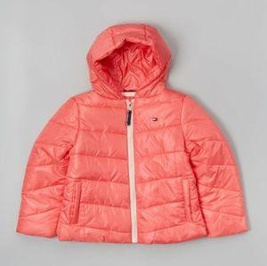 Tommy Hilfiger Guava Puffer Jacket - Girls